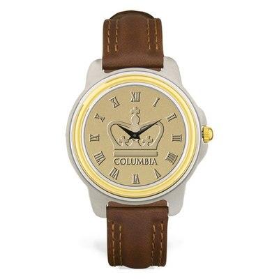 Columbia University Men's Two-Tone Watch