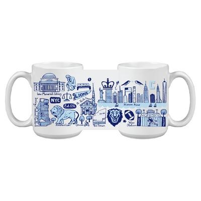 Columbia University JG Impact Grande Mug