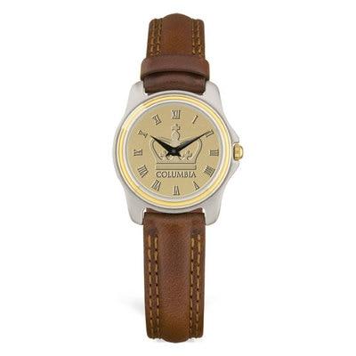 Columbia University Women's Leather Watch