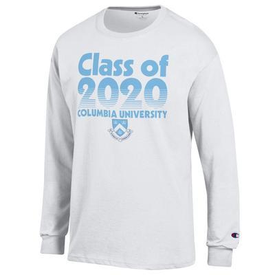 Columbia University Champion Jersey Long Sleeve T-Shirt