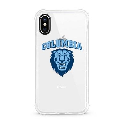 Columbia University Centon Clear Rugged Edge Phone Case Classic V1  iPhone X