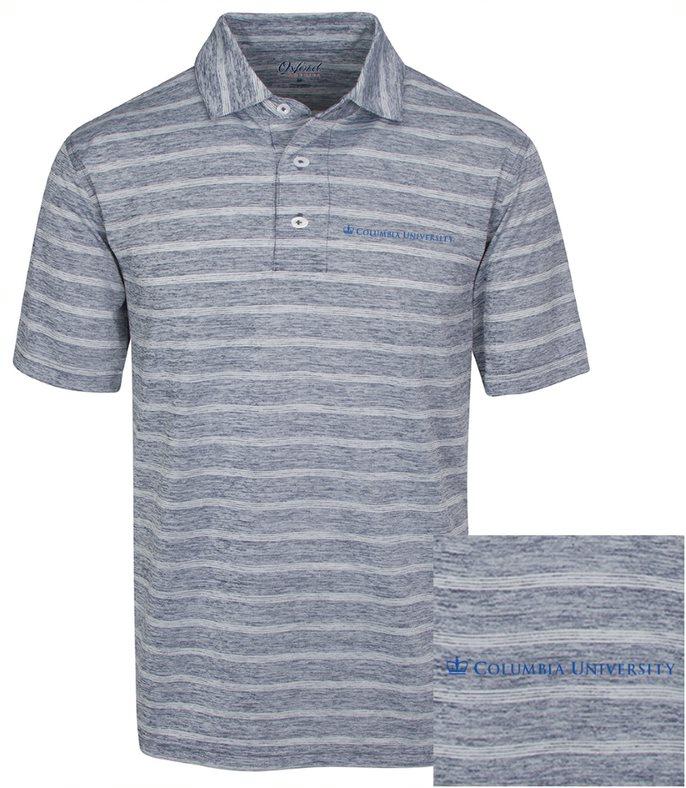Hartley Heather Stripe Jersey Polo