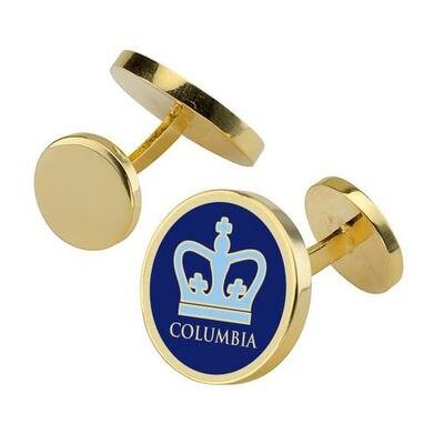 Columbia University Cufflinks Enamel