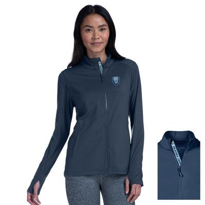 Columbia University Women's Slant Text Alyssa Full Zip Jacket