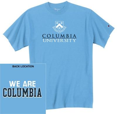 Columbia University Champion Jersey Short Sleeve Tee