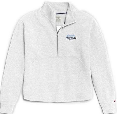 Columbia University League Womens Victory Springs Zip Pullover