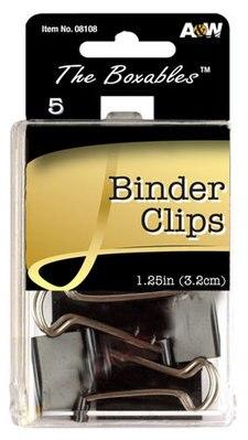 Avantix Binder Clips 114 5Ct