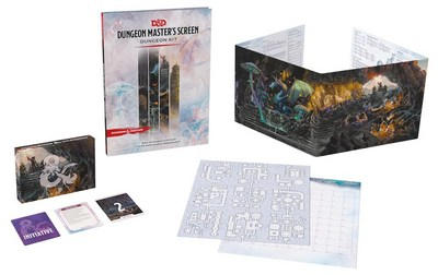 D&d Dungeon Masters Screen: Dungeon Kit (Dungeons & Dragons DM Accessories)