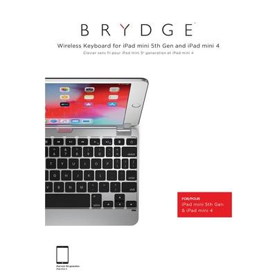 Brydge 7.9 Aluminum BT Keyboard  Silver