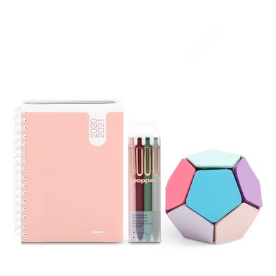 Planner and Writing Set, Blush