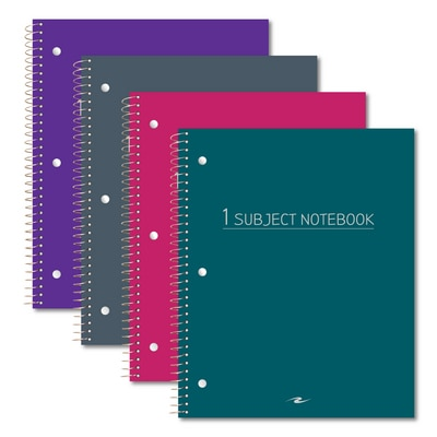 Value 70ct 1 Subject Notebook 11x9 Fashion