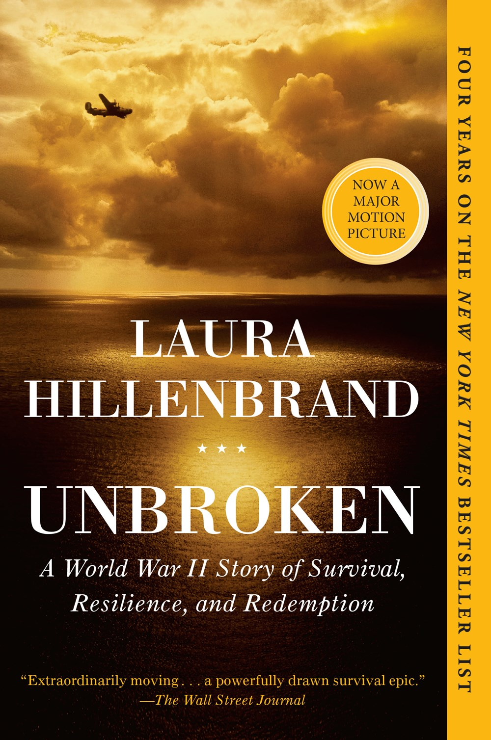 Unbroken: A World War II Story of Survival  Resilience  and Redemption