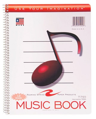 Roaring Spring Paper Products Music Book