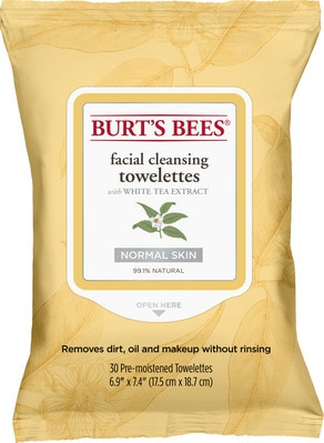 Facial Cleansing Towelettes  White Tea (30 count)