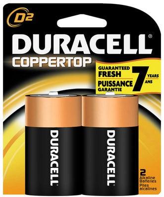 2Pk D Batteries