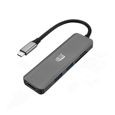Adesso 6 in 1 USB C Multiport Docking