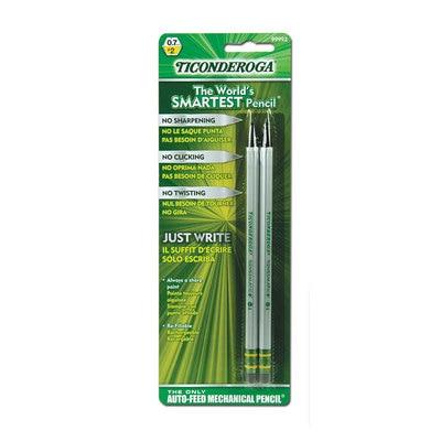 Dixon Ticonderoga SenseMatic Pencil 0.7 mm Silver 2Pack