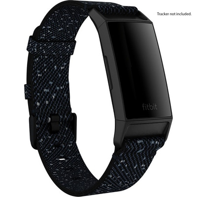 Fitbit Charge 4 Woven Band Midnight