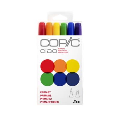 Copic(R) Ciao Marker Set, Primary