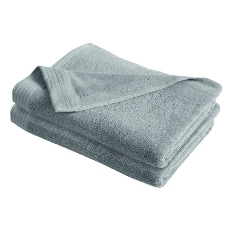 IZOD Everyday Gray 4 Pack Bath Towels