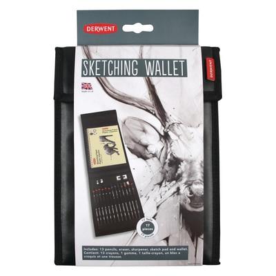 Derwent Sketching Wallet Set