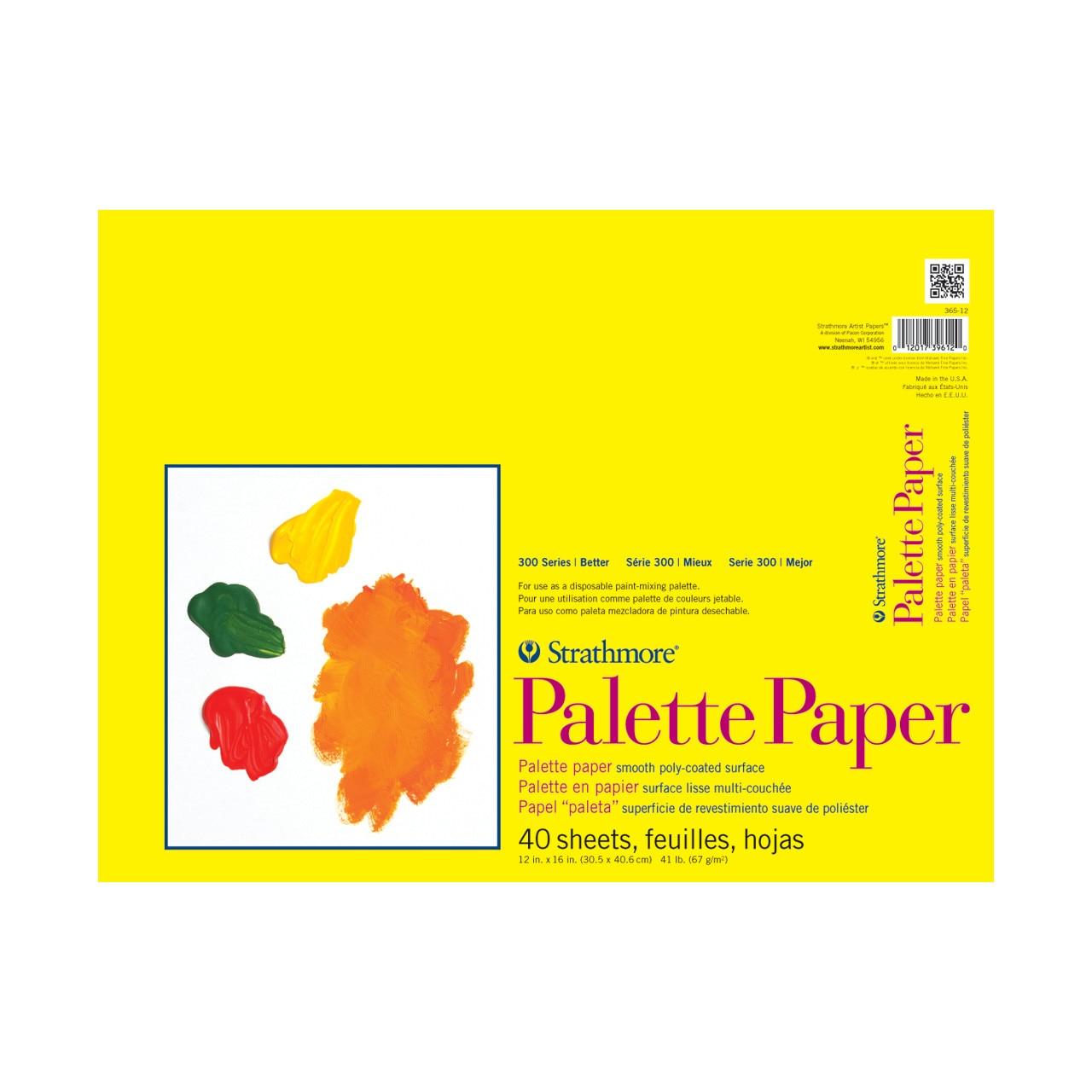 "Strathmore Paper Palette Pad, 12"" x 16"""