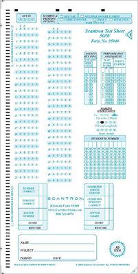 Scantron Form 95946