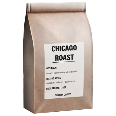 Chicago Roast - One Tree planted - Our City Coffee