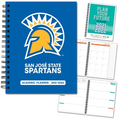 San Jose State 20-21 7x9 Hard Cover Planner