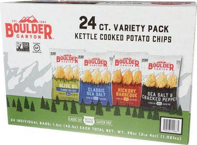 Boulder - Variety Chips Grab N Go
