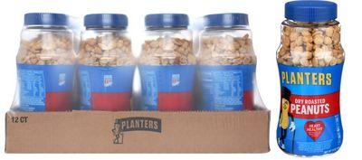 Planters Planters Dry Roasted Nut   12/16oz