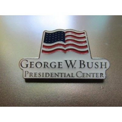 Bush Center Logo Hat Pin