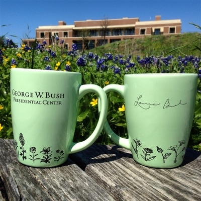 Laura Bush Signature Mug
