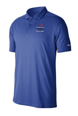 Bush Center Nike Golf Texture Polo