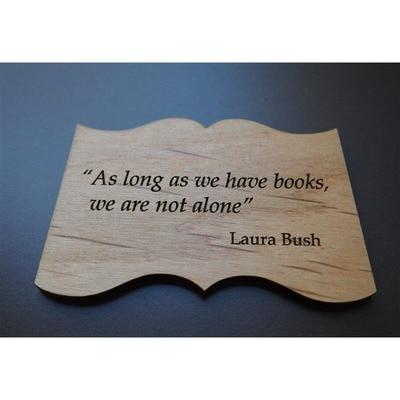Mrs. Bush's Quote Magnet