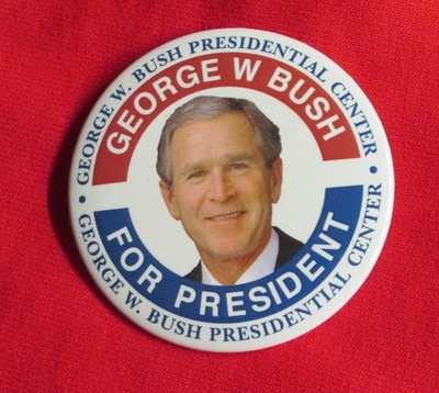 President Bush Button