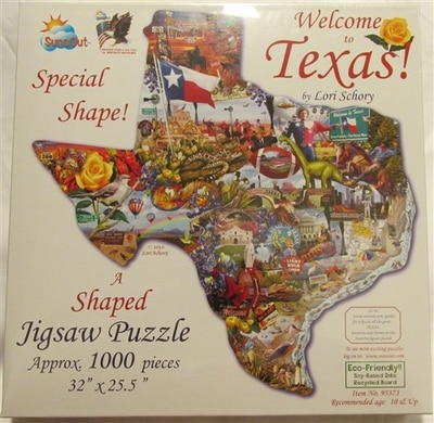 Welcome To Texas Puzzle