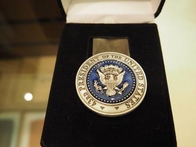 43rd Presidential Seal Money Clip