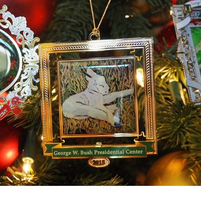 Bush Center Custom 2015 Ornament