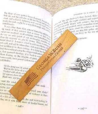 Bush Center Wooden Bookmark