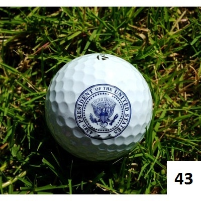 Presidential Seal Golf ball