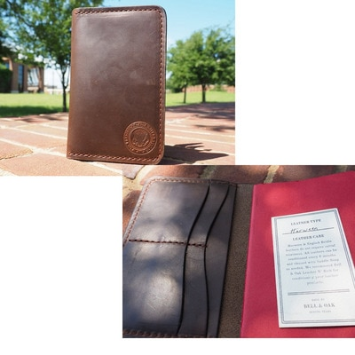 43rd Seal Leather Passport Cover