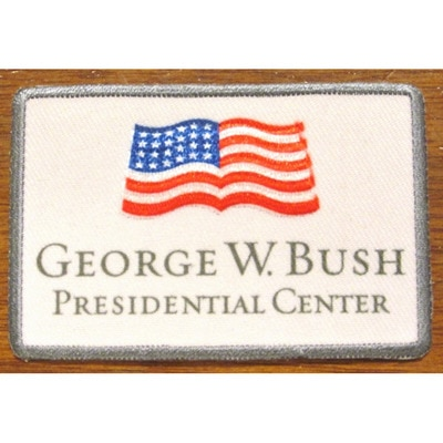 Bush Center Flag Patch