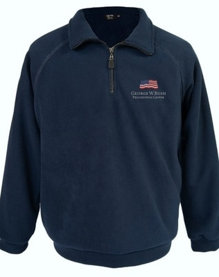 Bush Center Logo Fleece