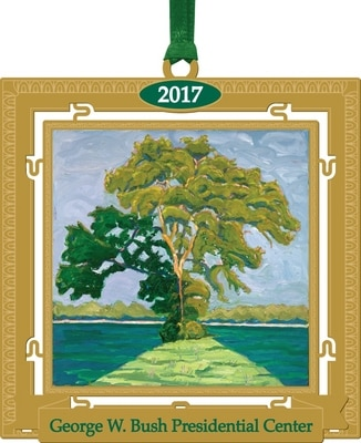 Bush Center Custom 2017 Ornament