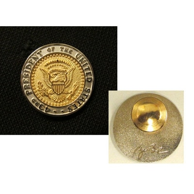 43rd Seal Two Tone Lapel Tac