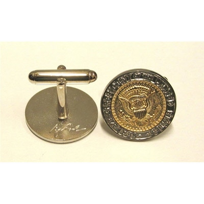 43rd Seal Two Tone Cufflinks