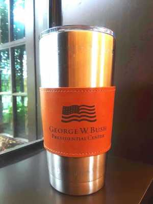 George W. Bush Presidential Center Tumbler Sleeve