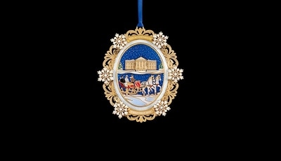 White House Rutherford B. Haves 2004 Ornament