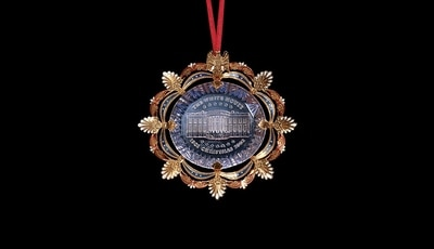 White House Centennial Restoration 2002 Ornament
